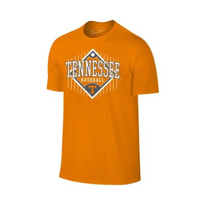 Tennessee Baseball Diamond Short Sleeve Tee