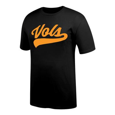 Tennessee Script VOLS Short Sleeve Tee BLACK