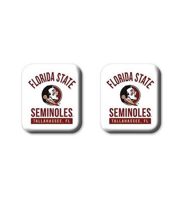 Florida State Legacy Square Fridge Magnets 2 Pack