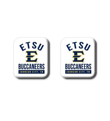 ETSU Legacy Square Fridge Magnets 2 Pack