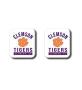 Clemson Legacy Square Fridge Magnets 2 Pack