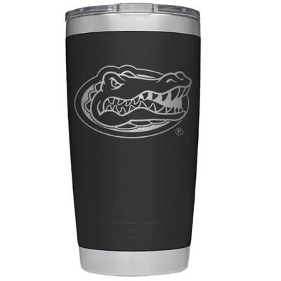 Florida Yeti 20oz Black Powder Coated Rambler