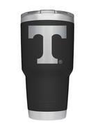 Tennessee Yeti 30oz Black Powder Coated Rambler