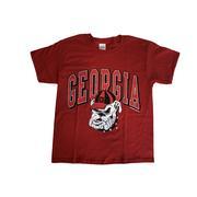 Georgia Arch Retro Logo Youth T- Shirt