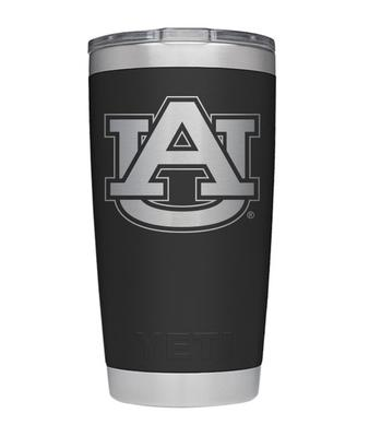 Auburn Yeti 20oz Black Powder Coated Rambler