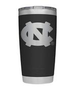 Unc Yeti 20oz Black Powder Coated Rambler