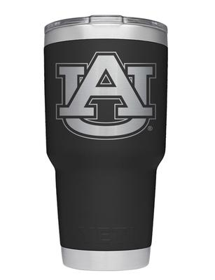 Auburn Yeti 30oz Black Powder Coated Rambler