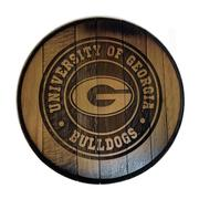 Georgia Timeless Etchings Barrel Head Sign
