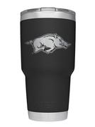 Arkansas Yeti 30oz Black Powder Coated Rambler