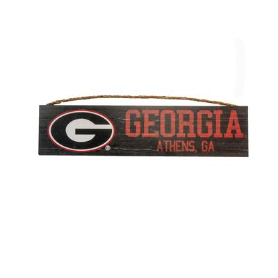 Georgia Distressed Wooden Sign