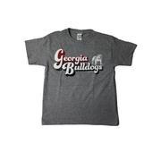 Georgia Retro Script Youth T Shirt