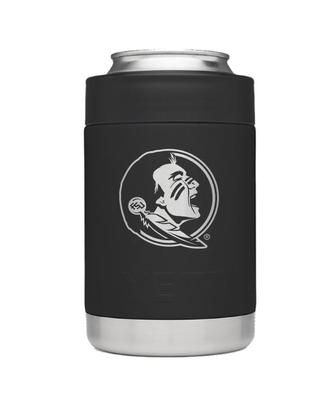Florida State Yeti Black Powder Coated Rambler Colster