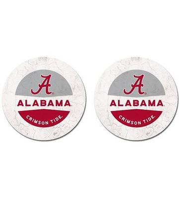 Alabama Legacy Car Coasters (2 Pack)