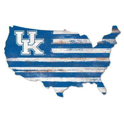 Kentucky Legacy USA Wooden Wall Mount Sign