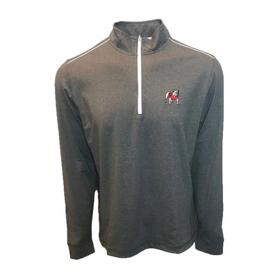 Georgia Johnnie-O Lammie Performance 1/4 Zip Pullover
