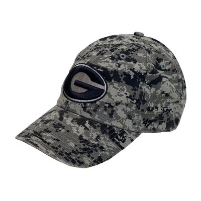 Georgia 47' Camo American Flag Hat