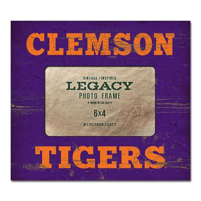 Clemson Tigers Legacy Picture Frame