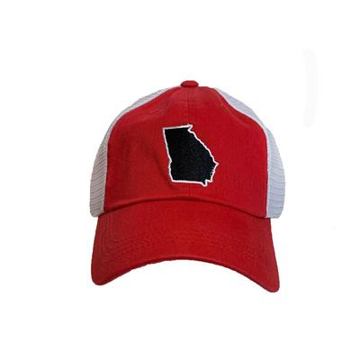 Georgia State Traditions Mesh Trucker Hat