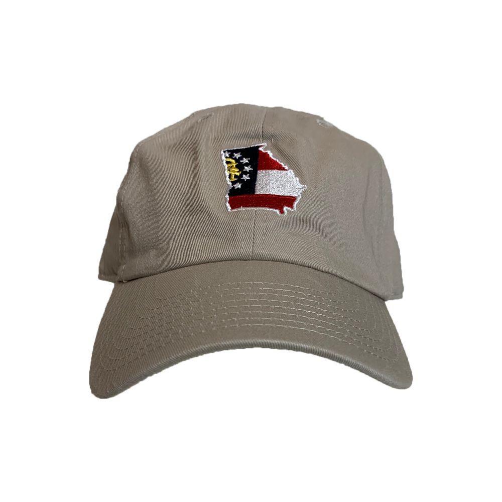 Georgia State Traditions Khaki Hat