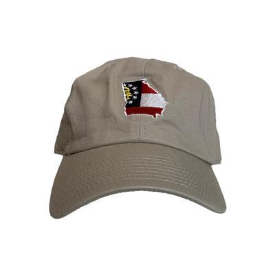 Georgia State Traditions Khaki Hat