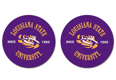 LSU Legacy Car Coasters