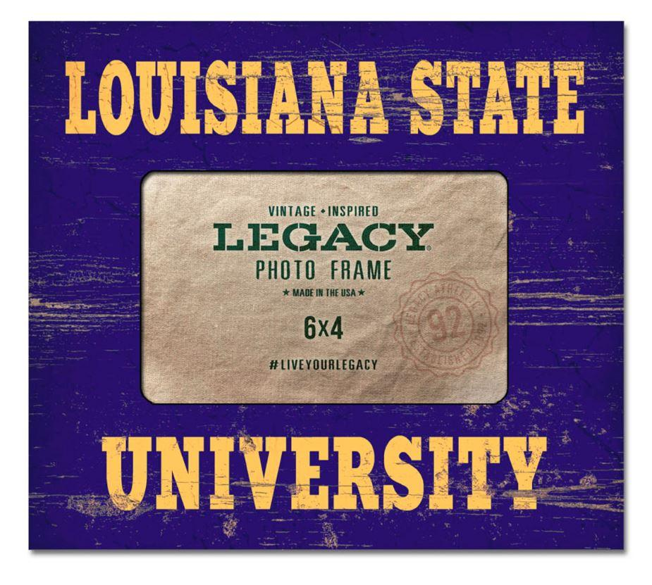 Lsu Legacy Picture Frame 8 X 9