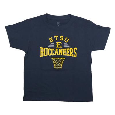 ETSU Youth Basketball Net T-Shirt