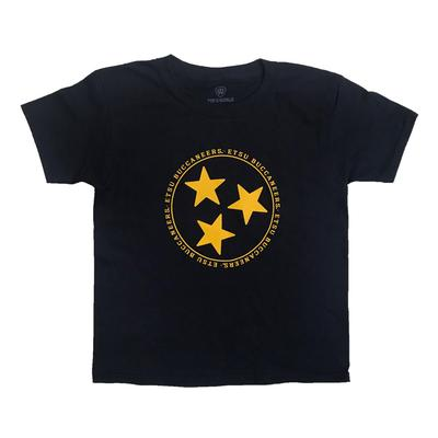 ETSU Youth Tri-Star Logo T-Shirt