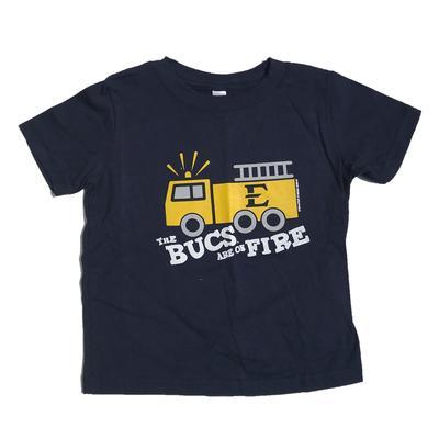 ETSU Toddler Fire Truck T-Shirt