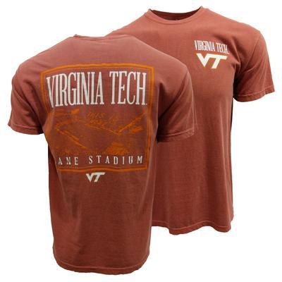 Virginia Tech Comfort Colors Lane Stadium T-Shirt