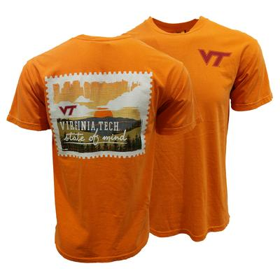 Virginia Tech Comfort Colors State of Mind T-Shirt