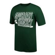 Michigan State Spartan Hockey Tee