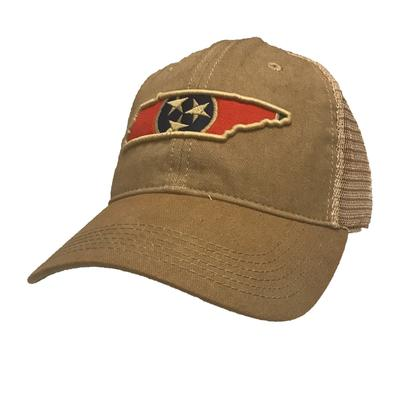 Tennessee Tri-Star Fill Adjustable Hat