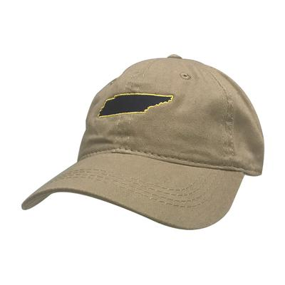 State of Tennessee Navy & Gold Twill Cap