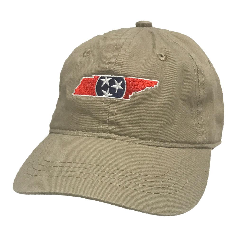 State Of Tennessee Youth Tri- Star Fill Twill Cap