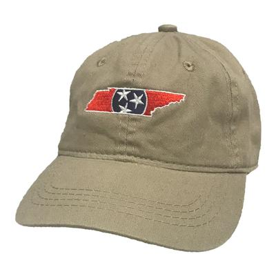 State of Tennessee Youth Tri-Star Fill Twill Cap