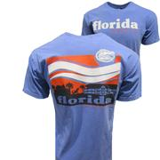 Florida Campus Waves Comfort Color Tee