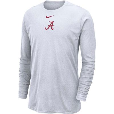 Alabama Nike 360 Dri-FIT Long Sleeve Player Top