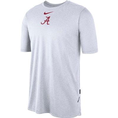 Alabama Nike 360 Dri-FIT Short Sleeve Player Top