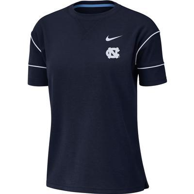 UNC Nike Women's Breathe Short Sleeve Top
