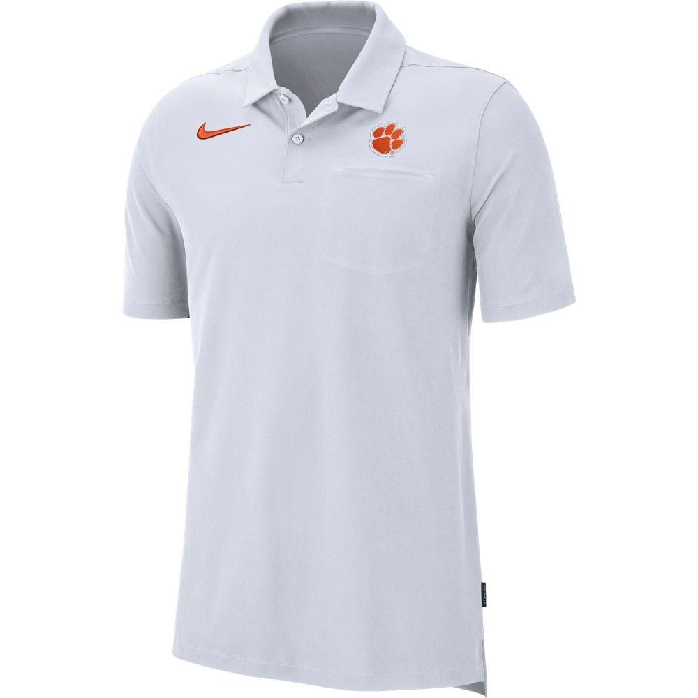 Clemson Nike Dry Coaches Polo