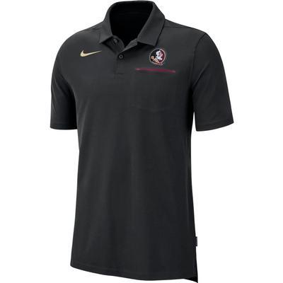 Florida State Nike Dry Coaches Polo