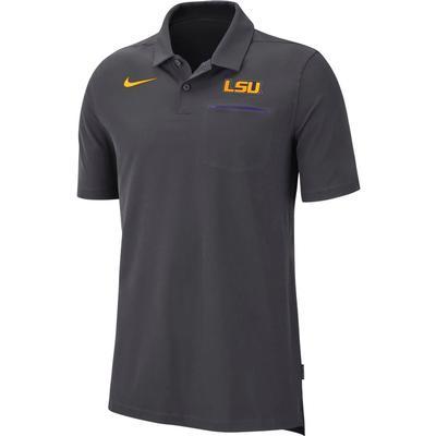 LSU Nike Dry Coaches Polo