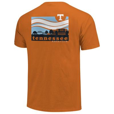 Tennessee Campus Scene Comfort Colors Tee