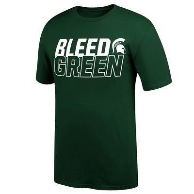 Michigan State Bleed Green Short Sleeve Tee