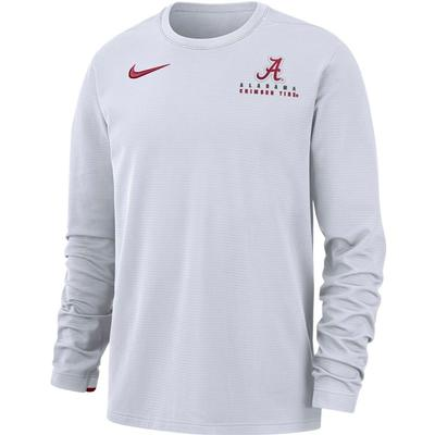 Alabama Nike Dry Top Football Crew