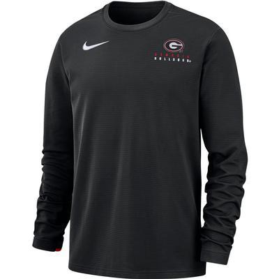 Georgia Nike Dry Top Football Crew