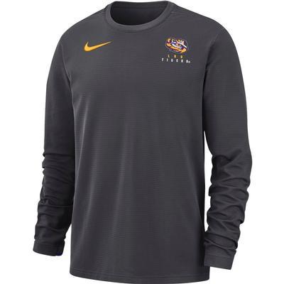 LSU Nike Dry Top Football Crew