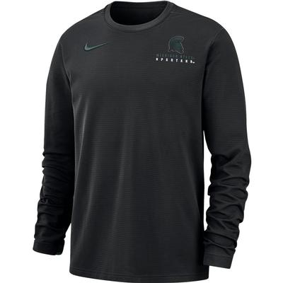 Michigan State Nike Dry Top Football Crew