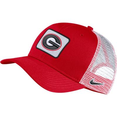 Georgia Nike C99 Trucker Patch Cap